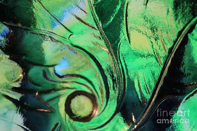 Digital Art - Leaf Design 7 by Sheri Dean
