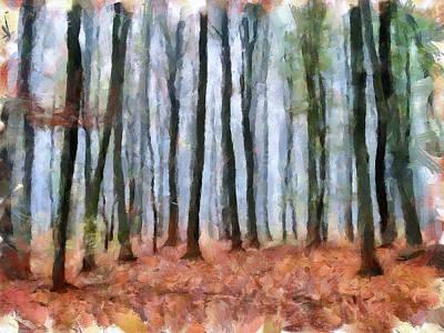 Leafless Landscape Art Print by Yury Malkov