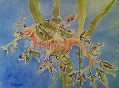 Leafy Sea Dragon Original by M Carlen