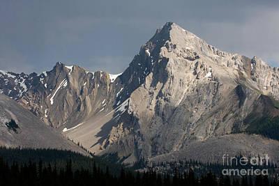 Photograph - Leah Peak Canada by Chris Scroggins