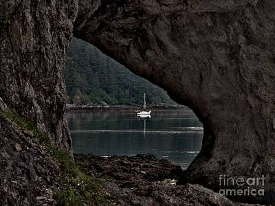 Photograph - Lealea At Anchor by Laura  Wong-Rose