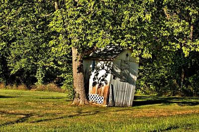 Photograph - Leaning Shed by Tim McCullough