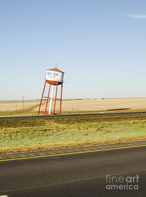 Photograph - Leaning Tower Of Britten Groom Texas by Deborah Smolinske