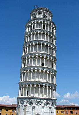 Photograph - Leaning Tower Of Pisa by Ramona Johnston