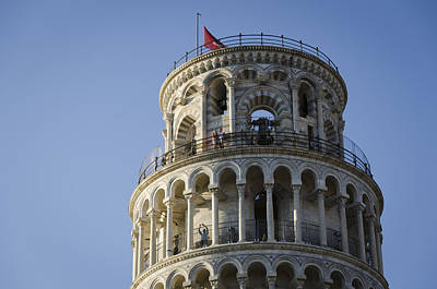 Leaning Tower Art Print