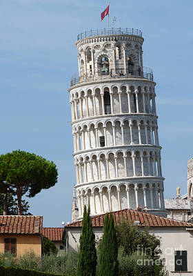 Photograph - Leaning Tower - Pisa by Phil Banks
