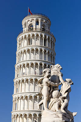 Pendente Photograph - Leaning Tower by Sebastian Wasek