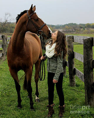 Photograph - Leanna Gino 15 by Life With Horses