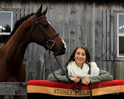 Photograph - Leanna Gino 20 by Life With Horses
