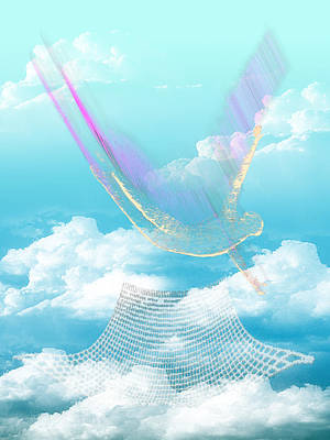 Digital Art - Leap And The Net Will Appear by Carl Bandy