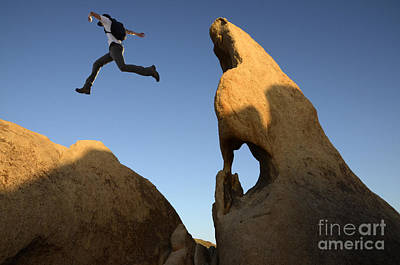Photograph - Leap Of Faith by Bob Christopher