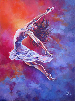 Joyful Drawing - Leap Of Faith by Tamer and Cindy Elsharouni