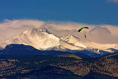 Boulder County Photograph - Leap Of Faith by James BO  Insogna