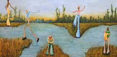 Leap Of Faith Art Print by Linda Carmel