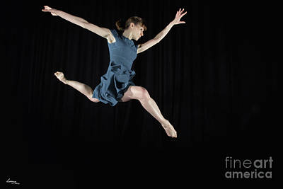 Dancer Photograph - Leaping Ballerina by T Lang