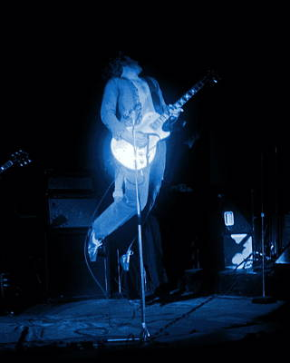 Photograph - Leaping Hagar In Spokane 1977 by Ben Upham