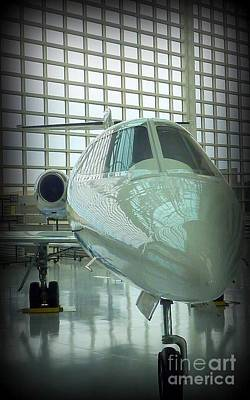 Photograph - Lear Jet 2 by Susan Garren