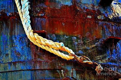 Learning The Ropes Print by Lauren Leigh Hunter Fine Art Photography