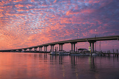 Florida Bridges Photograph - Learning To Kneel by Mike Lang
