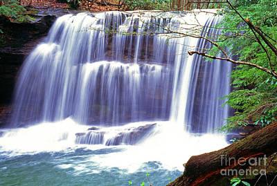 Leatherwood Falls Art Print by Thomas R Fletcher