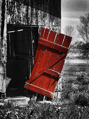 Photograph - Leave The Door Open by Kristie  Bonnewell