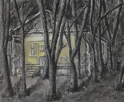 Painting - Leave The Porch Light On by Kelly Mills