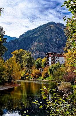 Photograph - Leavenworth Autumn  by Chris Anderson