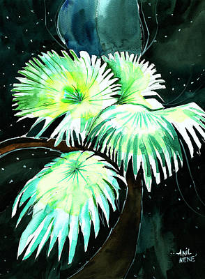 Leaves Art Print by Anil Nene