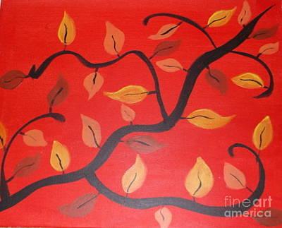 Leaves Art Print by Krystal Jost