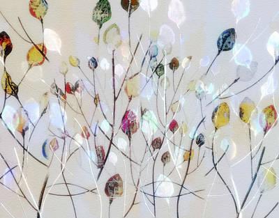 Leaves Of Color Art Print by Nina Bradica