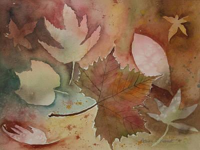Leaves Art Print by Patricia Novack