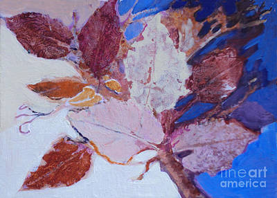 Painting - Leaves Series 4 by Diane Ursin