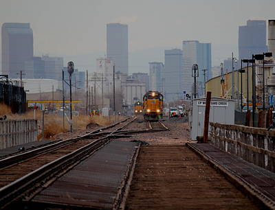 Photograph - Leaving Denver by Trent Mallett