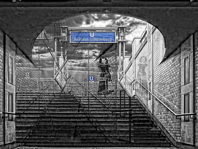 Berlin Photograph - Leaving It All Behind by Joachim G Pinkawa