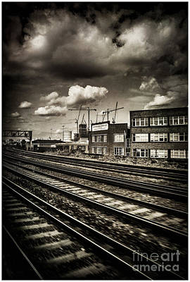 Photograph - Leaving London Town By Train by Lenny Carter