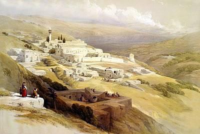 Photograph - Leaving Nazareth by Munir Alawi