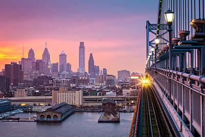 Photograph - Leaving Philadelphia by Mihai Andritoiu