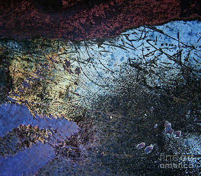 Photograph - Leaving Platos Cave Abstract by Lee Craig
