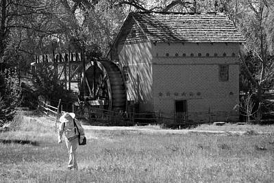 Photograph - Leaving The Mill by Mary Lee Dereske