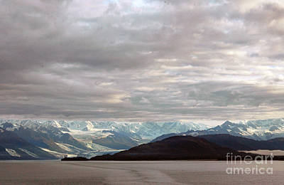 Photograph - Bank Of Clouds Over College Fjord by Cindy Murphy - NightVisions