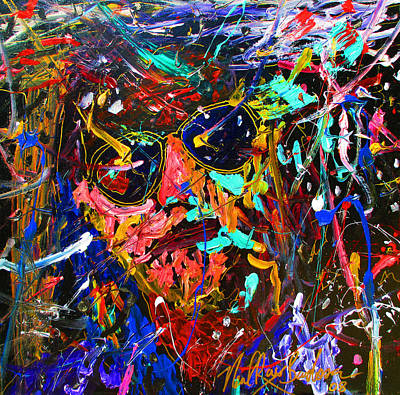 Painting - Lebowski Love by Neal Barbosa
