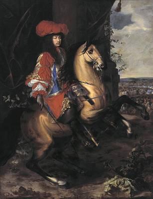 1690 Photograph - Lebrun, Charles 1619-1690. Equestrian by Everett