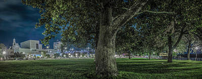 Art Print featuring the photograph Leclaire Park by Ray Congrove