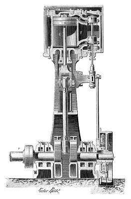 High Speed Photograph - Lecouteux-garnier Engine by Science Photo Library