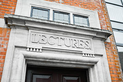Lecture Theatre Art Print by Tom Gowanlock