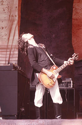 Led Zeppelin Photograph - Jimmy Page by Ron Draper