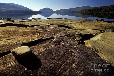 Ledge Photograph - Ledge At Eagle Lake by Jim Block