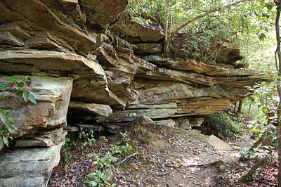 Photograph - Ledges Of Stone - Landscape by rd Erickson