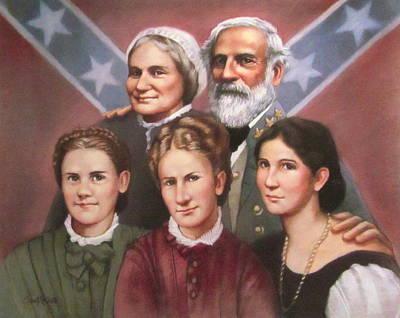 Lee And His Ladies Art Print