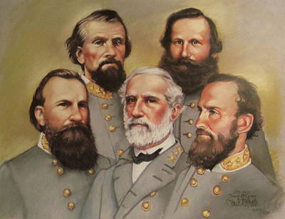 Lee And His Valiant Men Art Print